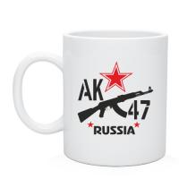 Кружка АК-47 и звезда