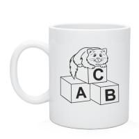 Кружка Кот на кубиках