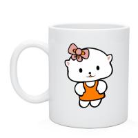 Чашка Плюшевая кошечка