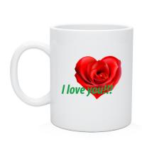Чашка Роза