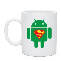 Чашка Super андроид