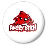 Значок Angry Bitch
