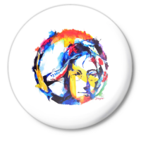 Значок John Lennon - Peace