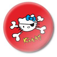 Значок Kitty череп