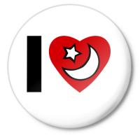 Значок Люблю ислам