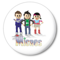 Значок Микрос персонажи