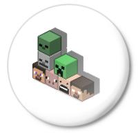 Значок Minecraft cube