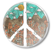 Значок Мир (Peace)