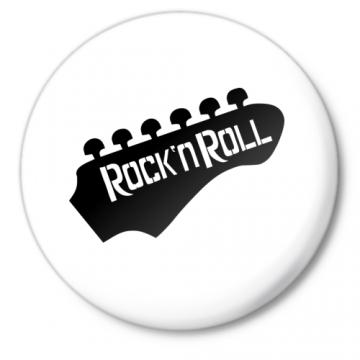 Значок Rock-n-roll