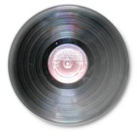 Значок Виниловая пластинка