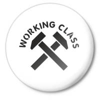 Значок Working class (рабочий класс)