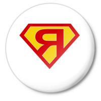 Значок супермен Я