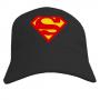 Бейсболка Superman - ч