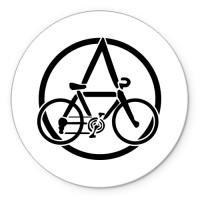 Коврик круглый Anarchy Bike