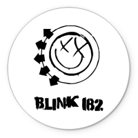 Коврик круглый Blink 182