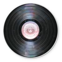 Коврик круглый Виниловая пластинка