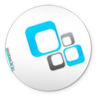 Коврик круглый Windows Seven