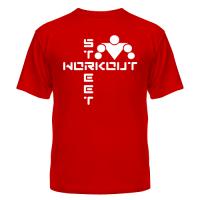 футболка Street Workout (крестом)