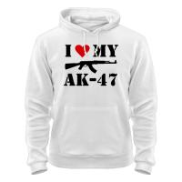Толстовка I love my АК-47