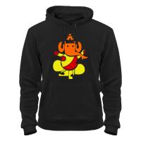 Толстовка Индийский Бог Ганеша