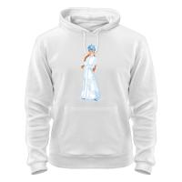 Толстовка Снегурочка с кокардой
