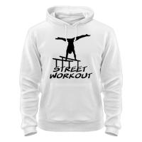Толстовка Street workout надпись