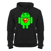 Толстовка Super андроид