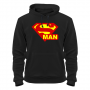 Толстовка Superman -ч