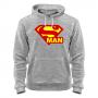 Толстовка Superman -сер.