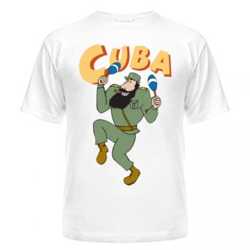Майка Cuba - Fidel Castro