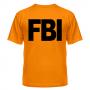 футболка FBI - ор.