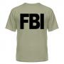 футболка FBI - сер.