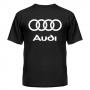 Футболка с логотипом Audi