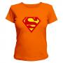 Женская футболка супермен