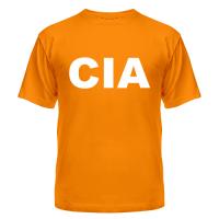 футболка ЦРУ