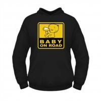 Толстовка Baby on Road