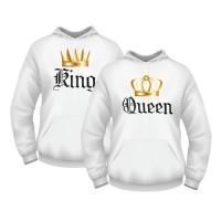 Парные толстовки King Queen