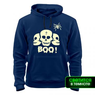 Толстовка Хеллоуин черепа