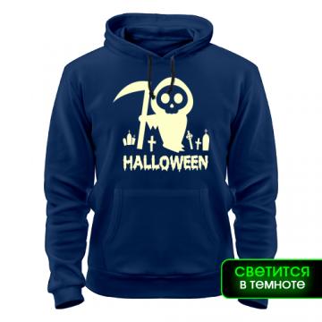 Толстовка Хеллоуин с косой