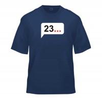 Футболка 23...