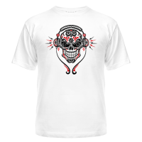 Футболка Skull-music
