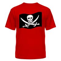 Футболка Веселый Роджер (пират)
