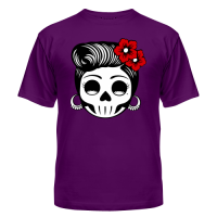 Футболка Skull girl