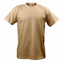 Бежевые футболки B&C