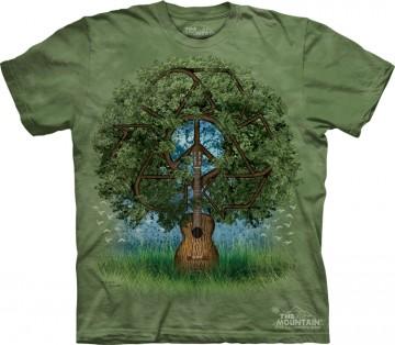 Футболка 3д Guitar Tree