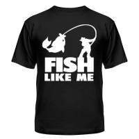Футболка FISH LIKE ME