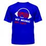Футболка My music my life 5