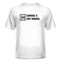 Футболка Not Normal