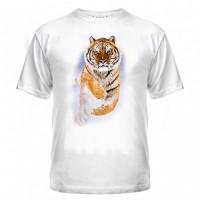 Футболка Тигр в снегу