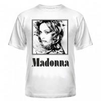 Футболка с Мадонной